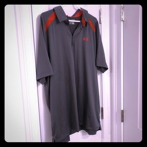 Under Armour (2XL), men's, used polo, loose